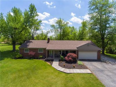 Clayton Single Family Home For Sale: 6720 Kimmel Road