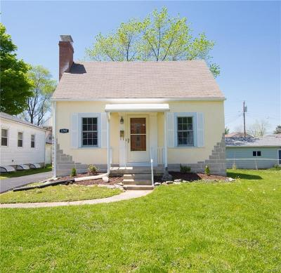 Dayton Single Family Home For Sale: 1747 Pershing Boulevard
