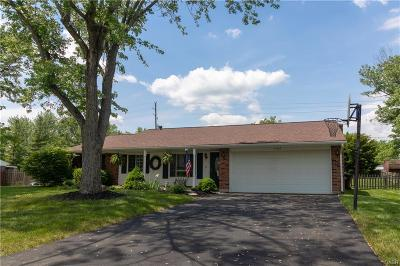 Dayton Single Family Home For Sale: 7409 Mohawk Trail Road