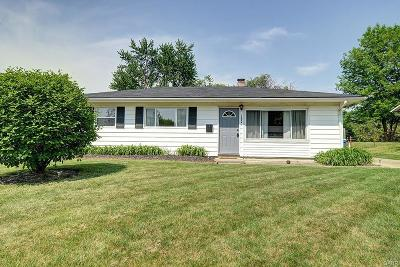 Dayton Single Family Home Active/Pending: 1224 Gridley Drive