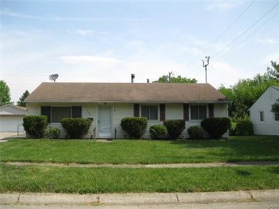 Dayton Single Family Home For Sale: 5457 Haverfield Road
