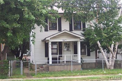 Dayton Single Family Home For Sale: 947 Webster Street