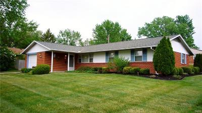 Huber Heights Single Family Home Active/Pending: 7310 Harshmanville Rd