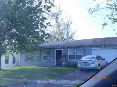 Dayton Single Family Home For Sale: 5348 Gardendale Avenue