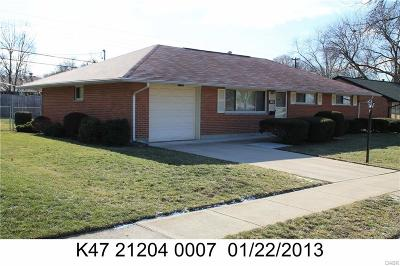 Dayton Single Family Home For Sale: 1832 Stroop Road