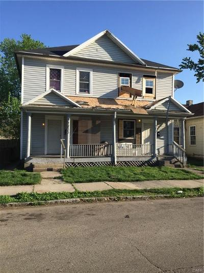 Dayton Single Family Home For Sale: 2704 2nd Street