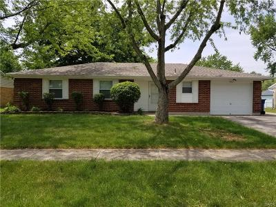 Dayton Single Family Home For Sale: 7109 Encanto Place