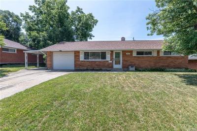 Huber Heights Single Family Home For Sale: 4874 Neptune Lane
