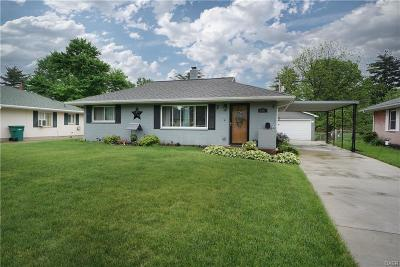 Dayton Single Family Home For Sale: 3802 Glaser Drive