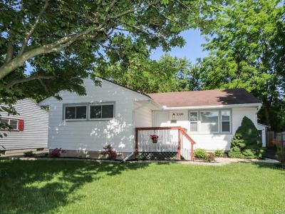 Middletown Single Family Home For Sale: 2611 Milton Road