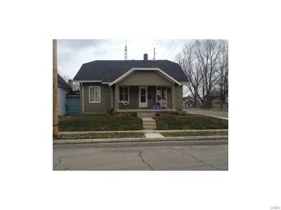 Tipp City Single Family Home For Sale: 302 3rd Street