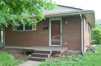 Kettering Single Family Home Active/Pending: 601 Corona Avenue