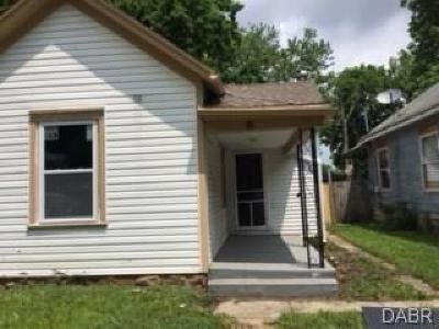 Dayton OH Single Family Home For Sale: $25,000