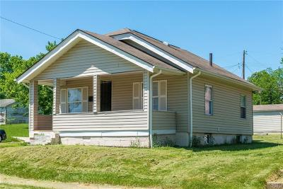 Dayton OH Single Family Home For Sale: $34,900