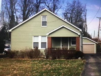 Dayton OH Single Family Home For Sale: $76,900