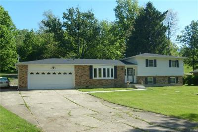 Springfield OH Single Family Home For Sale: $214,900