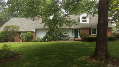 Kettering Single Family Home For Sale: 4288 Upham Road