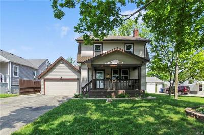 Dayton OH Single Family Home For Sale: $104,500