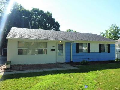 Dayton OH Single Family Home For Sale: $93,000