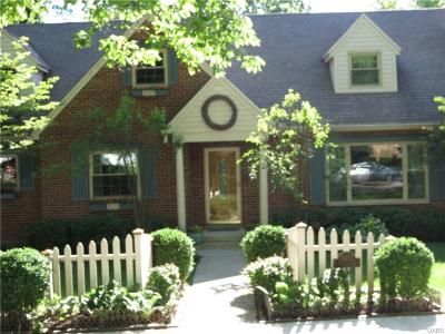 Kettering Single Family Home Active/Pending: 2453 Patterson Boulevard