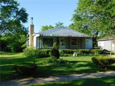 Dayton OH Single Family Home For Sale: $35,000