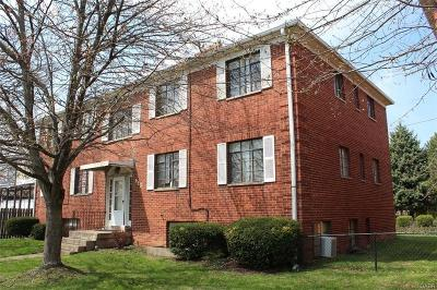 Dayton Multi Family Home For Sale: 613 Gainsborough Road