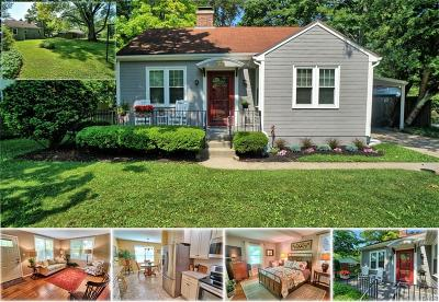 Yellow Springs Single Family Home Active/Pending: 814 High Street