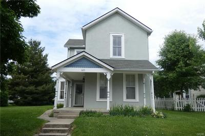 Tipp City Single Family Home For Sale: 325 3rd Street