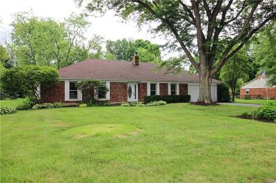 Centerville Single Family Home For Sale: 7232 Resinda Drive