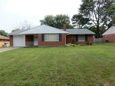 Kettering Single Family Home For Sale: 1024 Stroop Road
