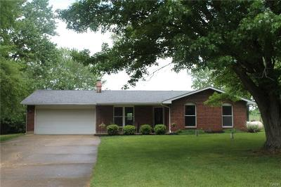 Cedarville Single Family Home For Sale: 2525 Harbison Road