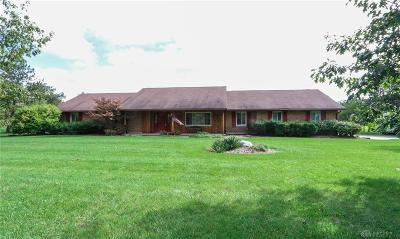 Brookville Single Family Home For Sale: 7772 Number Nine Road