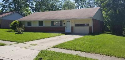Dayton OH Single Family Home Active/Pending: $45,900