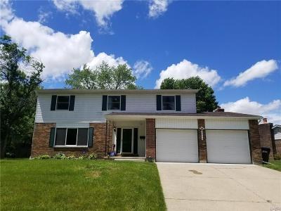 Dayton Single Family Home Active/Pending: 6436 Waywind Drive