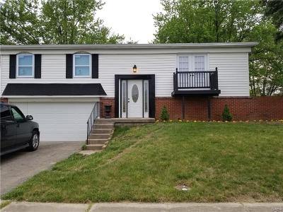 Dayton OH Single Family Home For Sale: $109,900