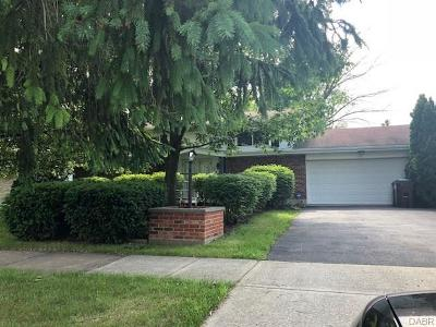 Trotwood Single Family Home Active/Pending: 5407 Denlinger Road