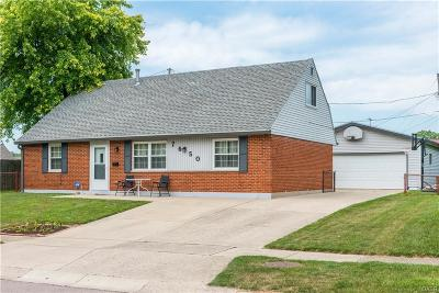 Huber Heights Single Family Home Active/Pending: 7650 Damascus Drive