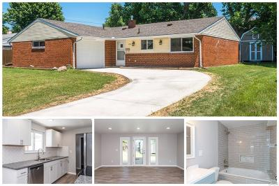 Huber Heights Single Family Home For Sale: 7058 Harshmanville Road