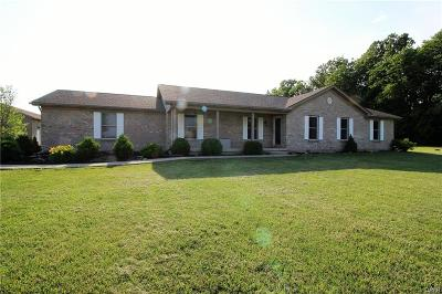 Brookville Single Family Home Active/Pending: 7761 Number Nine Road