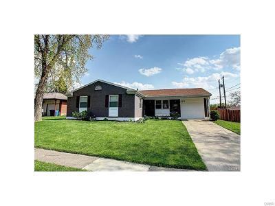 Dayton Single Family Home For Sale: 4674 Nowak Avenue