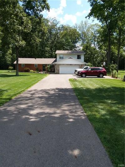 West Milton Single Family Home Active/Pending: 5183 Rangeline Road