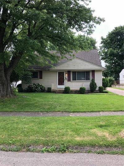 Dayton Single Family Home For Sale: 1604 Rockhurst Avenue