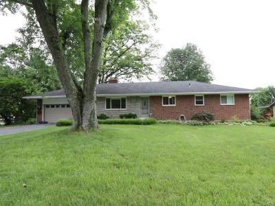Beavercreek Single Family Home Active/Pending: 1380 Howell Road