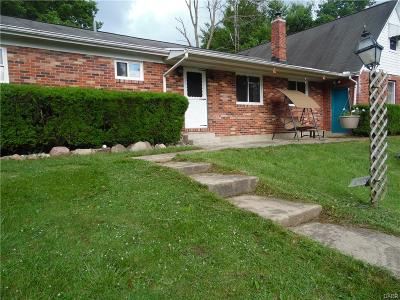 West Milton Single Family Home For Sale: 5235 Frederick Garland Road