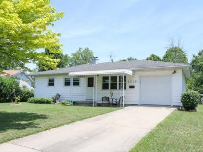 Miamisburg Single Family Home For Sale: 1218 Nunnery Drive