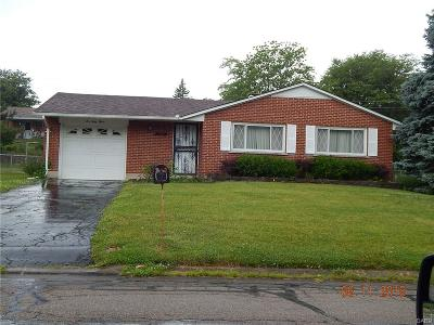 Dayton Single Family Home Active/Pending: 643 Peach Orchard Drive