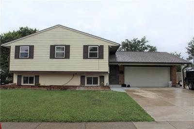 Dayton Single Family Home For Sale: 6320 Hemingway Road