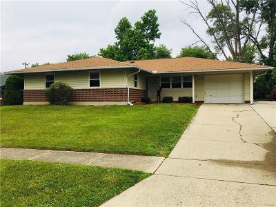 Dayton Single Family Home For Sale: 6315 Hemingway Road