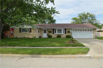 Dayton Single Family Home For Sale: 6260 Blue Ash Road