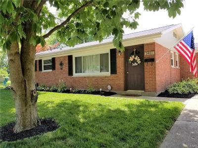 Kettering Single Family Home Active/Pending: 3401 Lisbon Street